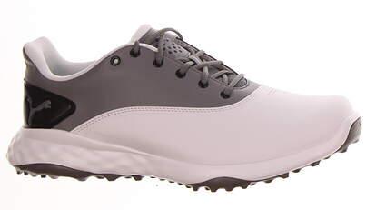New Mens Golf Shoe Puma Grip Fusion Medium 12 White/Grey MSRP $80