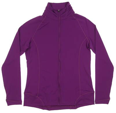 New Womens Peter Millar Jacket Medium M Purple MSRP $132