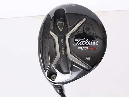 Titleist 917 F2 Fairway Wood 3 Wood 3W 15* Diamana S+ 70 Limited Edition Graphite Regular Left Handed 43.25 in