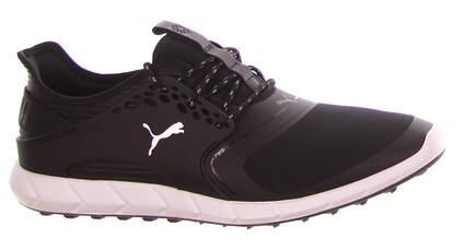 New Mens Golf Shoe Puma IGNITE PWRSPORT Medium 11.5 Black/Silver MSRP $120