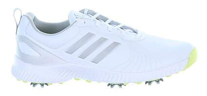 New Womens Golf Shoe Adidas Response Bounce Medium 7 White MSRP $85