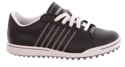 New Jr Golf Shoe Adidas Adicross Medium 6 Black/White MSRP $130