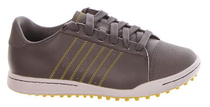 New Boys Golf Shoe Adidas Adicross Jr Medium 2.5 Gray MSRP $140