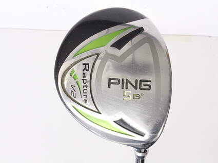 Ping Rapture V2 Fairway Wood 5 Wood 5W 19* Ping TFC 939F Graphite Senior Right Handed 42.5 in