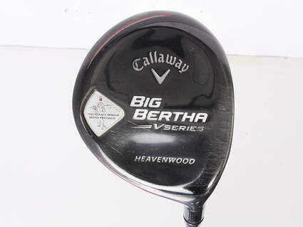 Callaway Big Bertha V Series Fairway Wood 7 Wood 7W 2nd Gen Bassara E-Series 52 Graphite Regular Right Handed 43 in