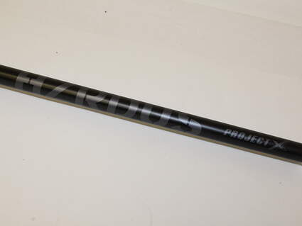 "Pulled Project X HZRDUS 85 Black Hybrid Shaft 6.0 Stiff Flex 39.75"" .370"" Tip"