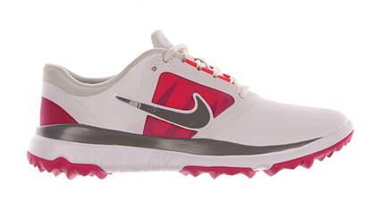 New Womens Golf Shoe Nike Fi Impact Medium 10 White/Pink MSRP $130