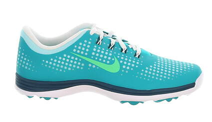 New Womens Golf Shoe Nike Lunar Empress Medium 7.5 Teal MSRP $100