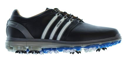 New Mens Golf Shoe Adidas Pure 360 Wide 7.5 Black MSRP $250