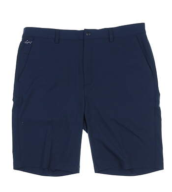 New Mens Greg Norman ML75 Microlux Shorts Size 36 Navy Blue MSRP $60 G7S6H900