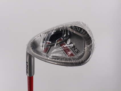 Mint Ping Moxie G 8-9 Year Old Wedge Sand SW 52* Stock Graphite Shaft Graphite Left Handed 28 in