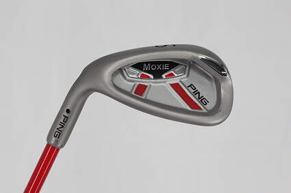 Mint Ping Moxie K 6-7 Year Old Wedge Sand SW 52* Stock Graphite Shaft Graphite Left Handed 25 in