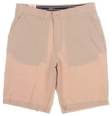 New Mens Johnnie-O Wyatt Shorts Size 32 Stone MSRP $89 JMSH1410