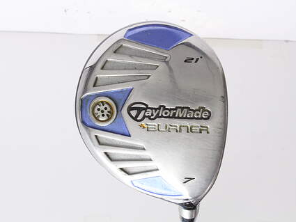 TaylorMade Burner Superfast Fairway Wood 7 Wood 7W 21* TM Matrix Ozik Xcon 4.8 Graphite Ladies Right Handed 41 in