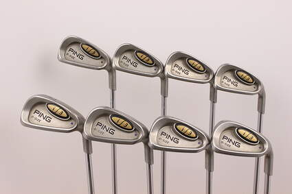 Ping i3 Oversize Iron Set 3-PW Ping JZ Steel Regular Right Handed Blue Dot 37.75 in