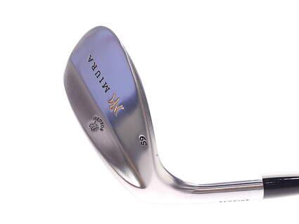 Mint Miura Wedge Series Wedge Lob LW 59* FST KBS Wedge Steel Stiff Left Handed 35 in