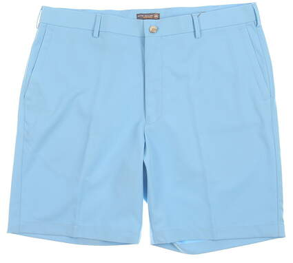 New Mens Peter Millar Golf Shorts Size 36 Blue MSRP $70 MS18EB82