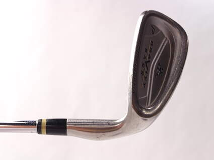 Cobra Gravity Back Single Iron Pitching Wedge PW 46* Stock Steel Shaft Steel Stiff Right Handed 35.5 in