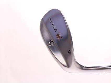 Mint Miura Wedge Series Wedge Sand SW 55* FST KBS Wedge Steel Stiff Left Handed 35.25 in