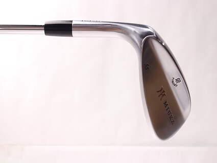 Mint Miura Wedge Series Wedge Sand SW 55* FST KBS Wedge Steel Stiff Left Handed 35.75 in
