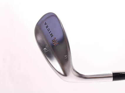 Mint Miura Wedge Series Wedge Sand SW 55* FST KBS Wedge Steel Stiff Left Handed 35.25 in