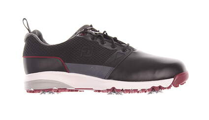 New Mens Golf Shoe Footjoy Contour Series Medium 12 Black MSRP $110