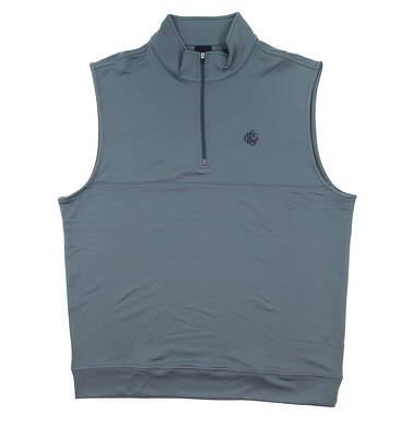 New W/ Logo Mens Dunning Golf Vest XX-Large XXL Gray MSRP $90
