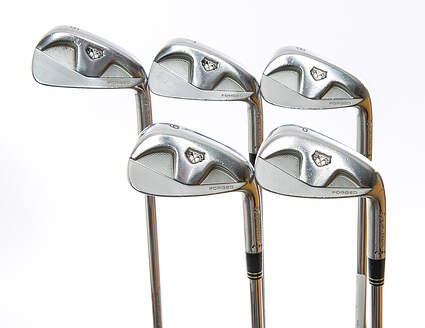TaylorMade Rac MB TP Iron Set 6-PW True Temper Dynamic Gold S200 Steel Stiff Right Handed 37 in