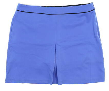 New Womens Greg Norman Nantucket Skort Size 10 Blue MSRP $79 G2S5H020