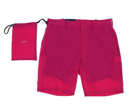 New Mens Ralph Lauren Beach to Links Shorts Size 34 Pink MSRP $125