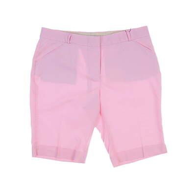 New Womens Peter Millar Golf Shorts Size 12 Pink MSRP $90 LS17EB43