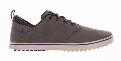 New Womens Golf Shoe Nike Lunaradapt Medium 9 Gray/Purple MSRP $130
