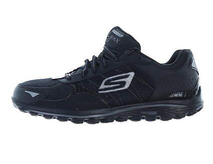 New Womens Golf Shoe Skechers GOwalk 2 Lynx LT 8.5 Black MSRP $100