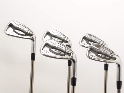 Callaway Apex Pro 16 Iron Set 6-PW UST Mamiya Recoil 110 F4 Graphite Stiff Right Handed 38 in