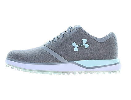 New Womens Golf Shoe Under Armour UA Performance SL 8 Gray MSRP $130