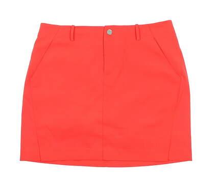 New Womens Ralph Lauren Polo Golf Skort Size 2 Red MSRP $75