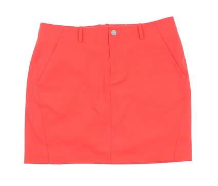 New Womens Ralph Lauren Polo Golf Skort Size 8 Red MSRP $100