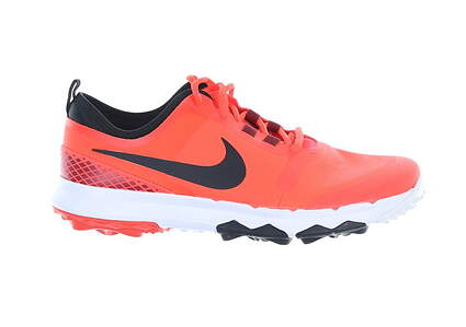 New W/O Box Mens Golf Shoe Nike FI Impact 2 8.5 Bright Crimson MSRP $140 776111-600