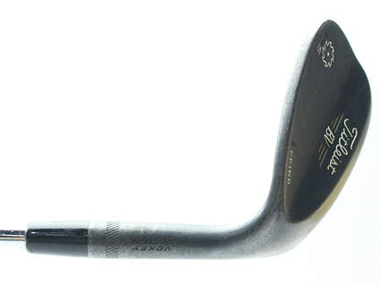 Titleist Vokey SM5 Raw Black Wedge Lob LW 58* 7 Deg Bounce S Grind Titleist SM5 BV Steel Wedge Flex Right Handed 35 in