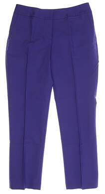 New Womens Sport Haley Golf Capris Size 6 Blue MSRP $85 WB024016