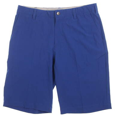 New Mens Adidas Ultimate Golf Shorts Size 32 Blue MSRP $65