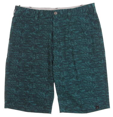 New Mens Adidas Ultimate Heather Shorts Size 38 Green MSRP $70