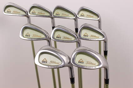 Titleist DCI Senior Oversize Iron Set 4-PW GW SW Titleist Tri-Spec Graphite Ladies 37 in