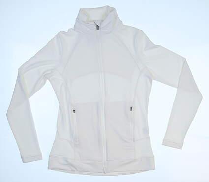 New Womens Peter Millar Jacket X-Small XS White MSRP $109
