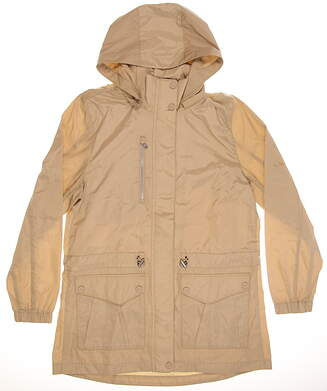 New Womens Ralph Lauren Polo Golf Jacket Medium M Sand Dune MSRP $198