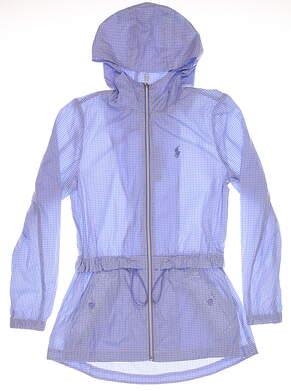 New Womens Ralph Lauren Polo Golf Jacket X-Small XS Blue MSRP $225
