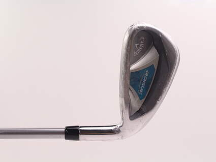 Mint Callaway Rogue Single Iron 7 Iron Aldila Quaranta Blue 40 Graphite Ladies Right Handed 36 in
