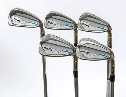 Ping 2015 i Iron Set 6-PW Aerotech SteelFiber i95 Steel Stiff Right Handed Yellow Dot 37.75 in