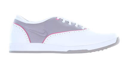 Womens Golf Shoe Nike Lunar Duet Classic Medium 8 White/Grey MSRP $100