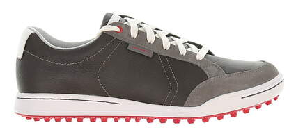 New Mens Golf Shoe Ashworth Cardiff 9.5 Iron/White/Toro MSRP $160